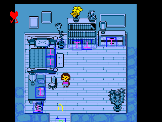 undertale rooms