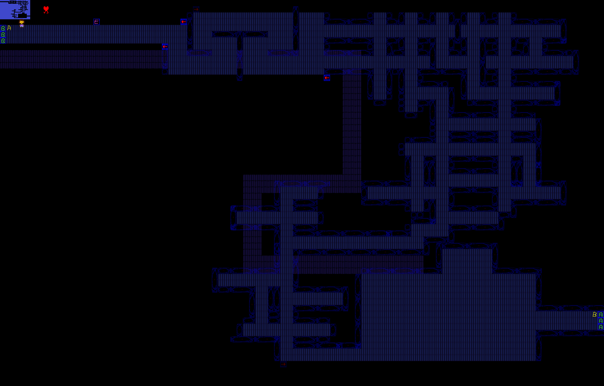 Карта для майнкрафт ватерфол undertale